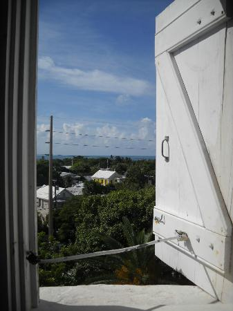 Key West Lighthouse and Keeper's Quarters Museum: Half way up