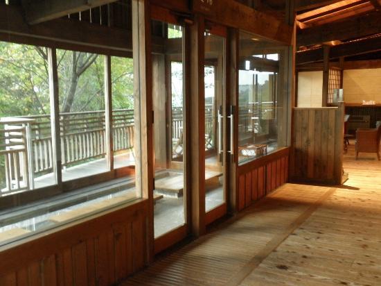 Zao Kokusai Hotel: 足湯