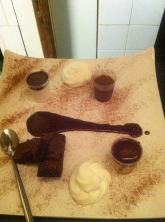 L'Assiette du vieux Saint Pierre: assiette du cacaotier ( que du chocolat)