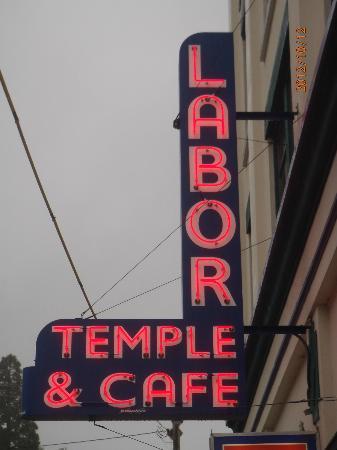Labor Temple Diner