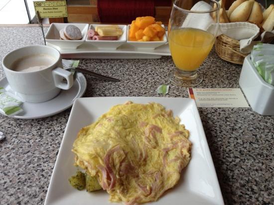 Runcu: desayuno/ Breakfast