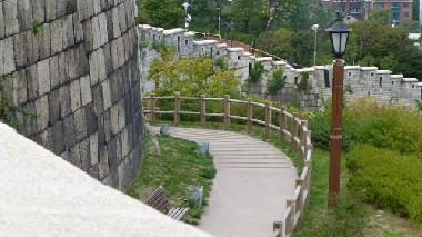 Fortress Wall at Naksan