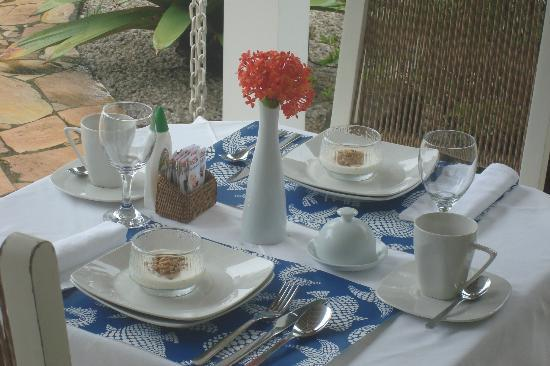 Vivenda Paraty: Café da manhã