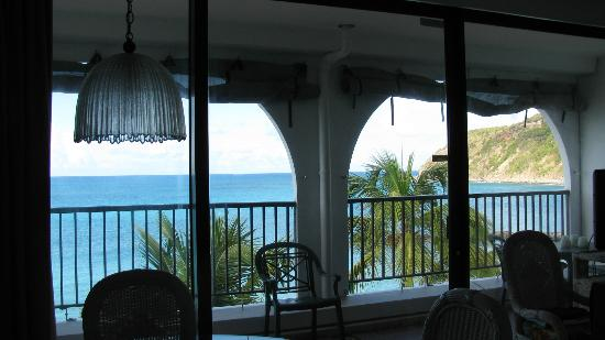 Belair Beach Hotel: balcony view from LR