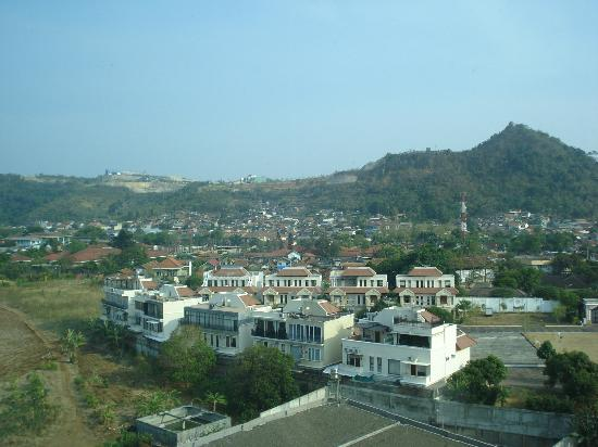 Hotel Novotel Lampung: view from my room.