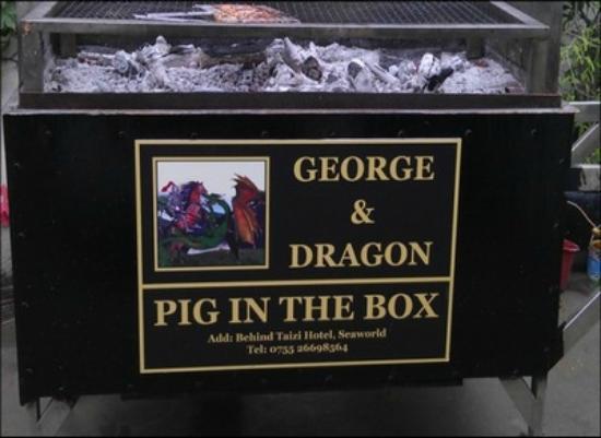 George & Dragon British Pub: George & Dragon_the roasting box