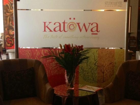 Katowa Restaurante Lounge: welcome