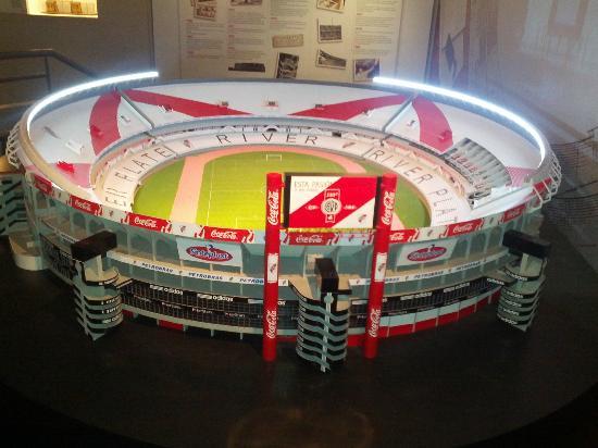 Museo River Plate: Miniatura del Estadio Monumental