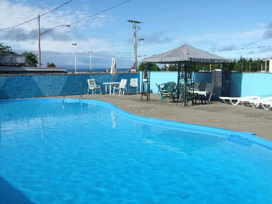 Huron Motor Lodge : Pool and sun deck