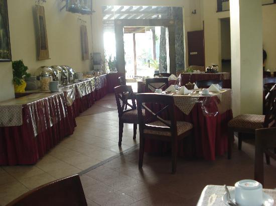Campago Hotel: Dining area