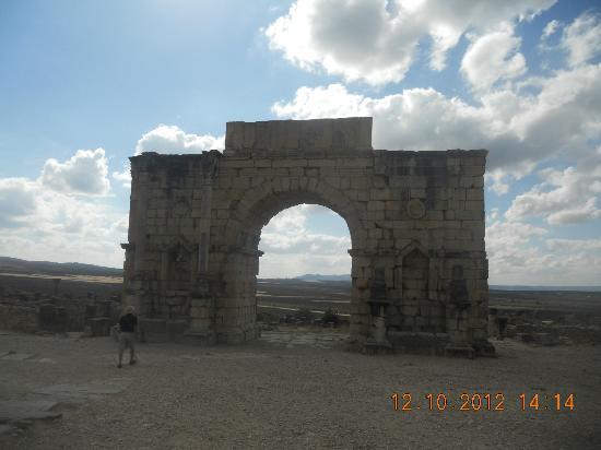 Volubilis: Roman Victory Gate