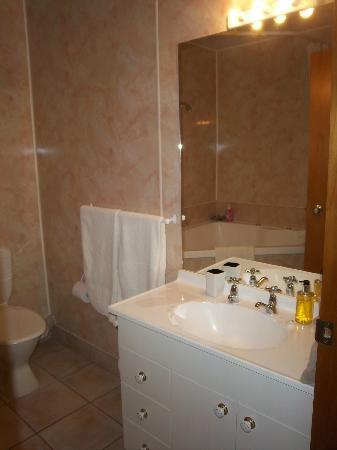 แอมรอส คอร์ท มอเตอร์ ลอดจ์: Bathroom