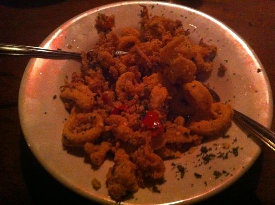 Casey's Caboose Steak House: peppercorn calamari