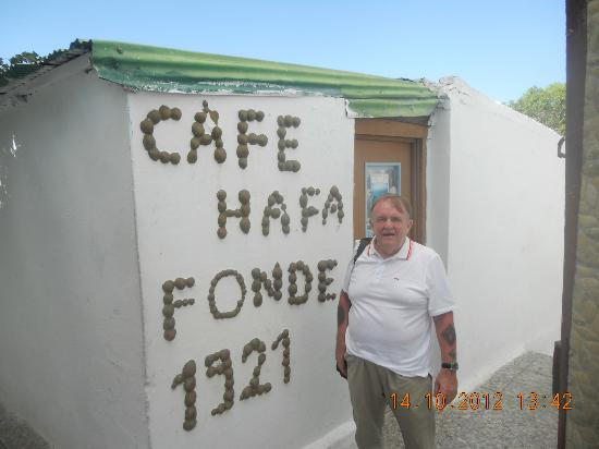 Tangier Tours - Day Tours: Hafa Cafe