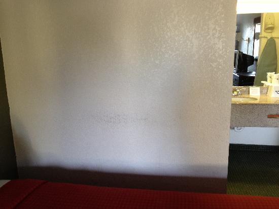 Days Inn Charleston Historic District: Dirty walls