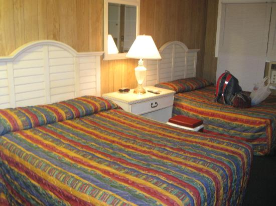 Americas Best Value Mt. Royal Inn: Bedroom, looks far nicer than reality