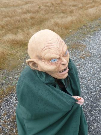 Lord of the Rings Twizel Tour: Gollum!