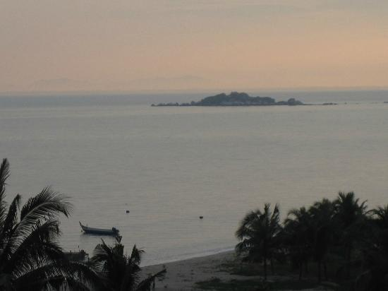 Copthorne Orchid Hotel Penang: The view from our balcony.