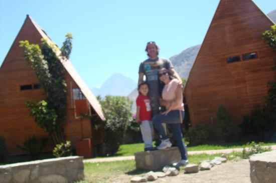 La Confianza Hotel - Lunahuana : Con mi familia