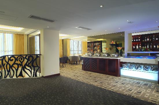 Metropark Park Hotel Kowloon: Metropark Club lounge