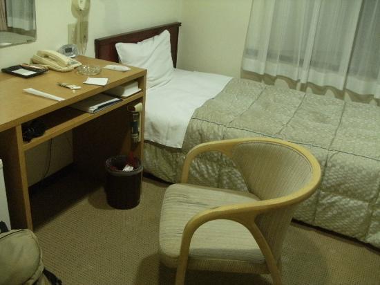 Hotel Goody Ogaki: シングル客室(バス・トイレ共同)