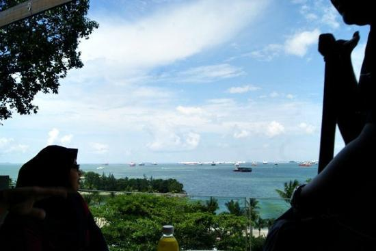 Siloso Beach Resort Sentosa: view fr roof