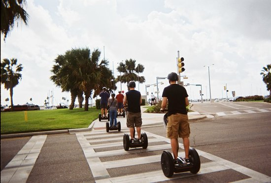 SegCity Guided Segway Tours: and we are off on our segway tour