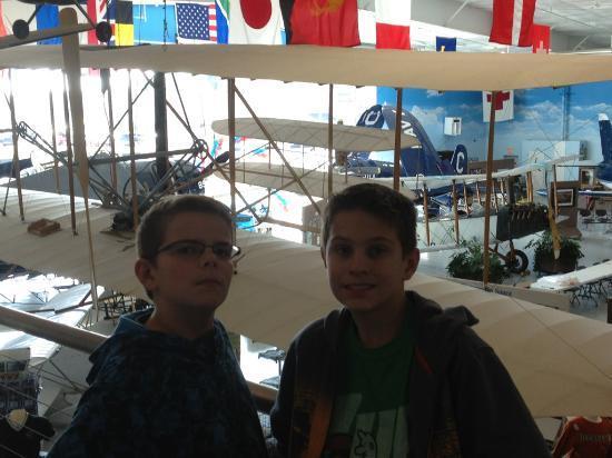 Fargo Air Museum: Overlooking the museum