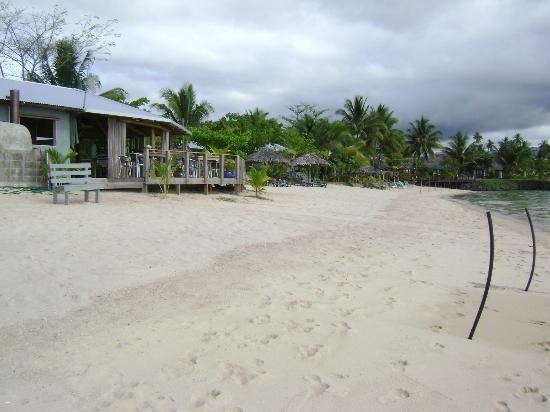 Savaii Lagoon Resort: Beach at Savai'i Lagoon Resort