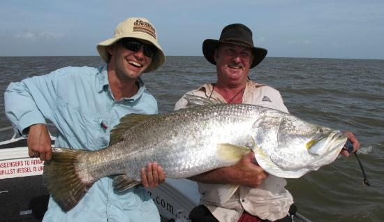 Territory Guided Fishing - Day Tours: Run Off fishing the Top End