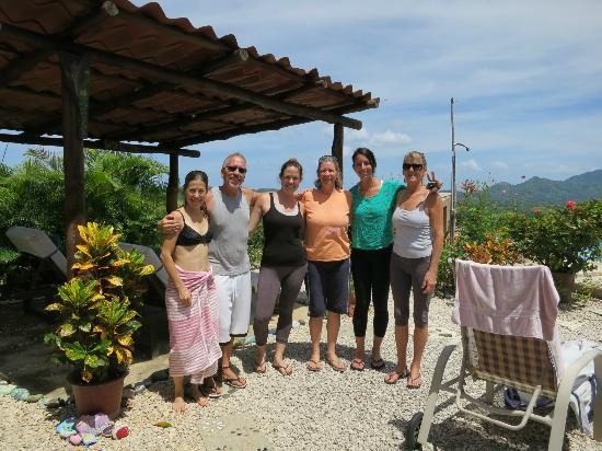 Panacea de la Montana Yoga Retreat & Spa: The group
