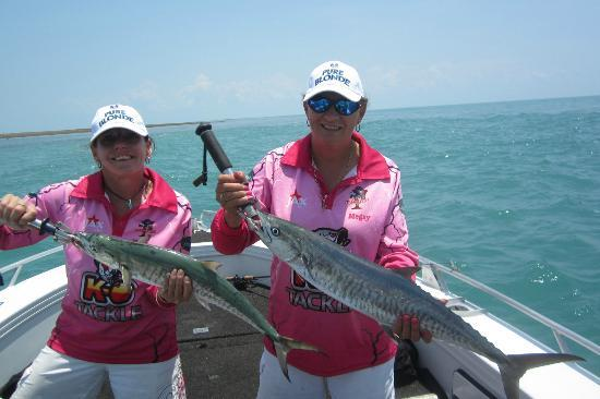 Territory Guided Fishing - Day Tours: Just some of the mackeral we caught.