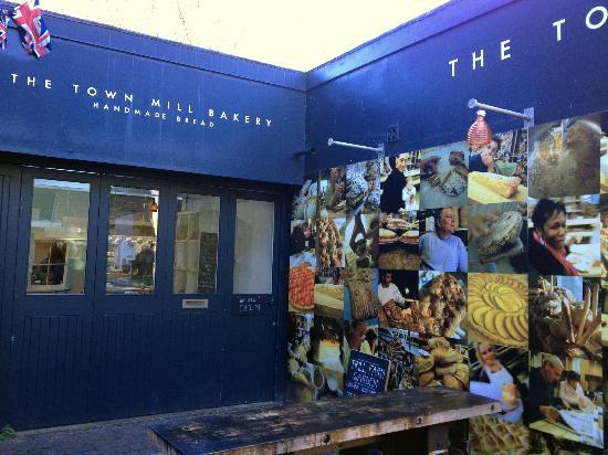 Town Mill Bakery: Main Entrance