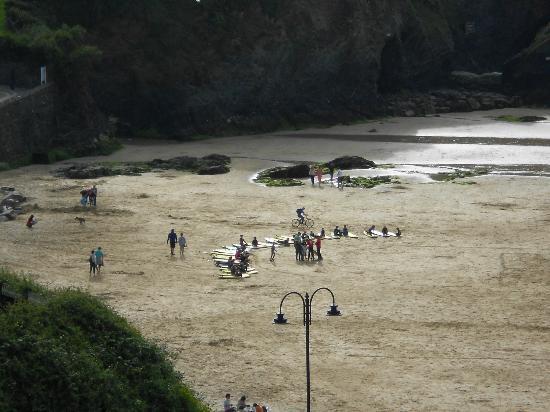 Lazy Waves: Surf School on Town Beach below.