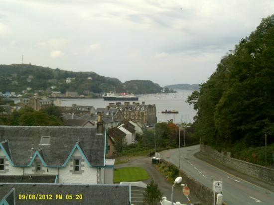 Kings Knoll Hotel: Oban bay