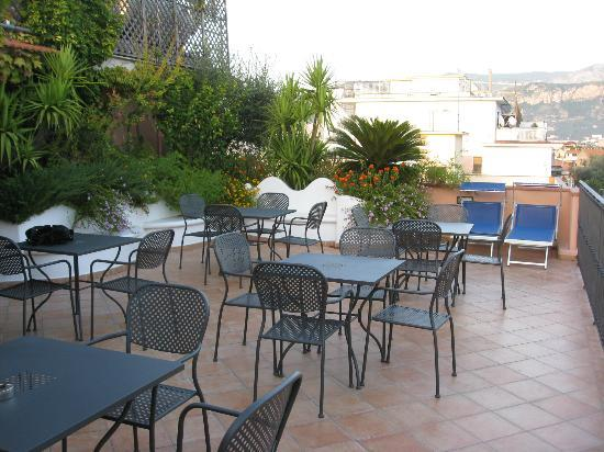 Hotel Central: roof terrace