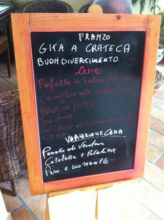 Hotel Villa Janto: Speisetafel täglich neu