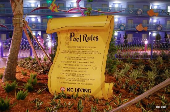 Disney's Art of Animation Resort: Little Mermaid Pool