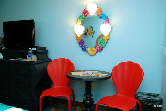 Disney's Art of Animation Resort: Little Mermaid Room