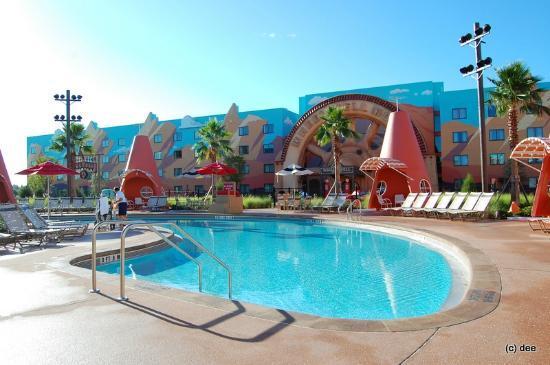 Cars Courtyard Picture Of Disney 39 S Art Of Animation Resort Kissimmee Tripadvisor
