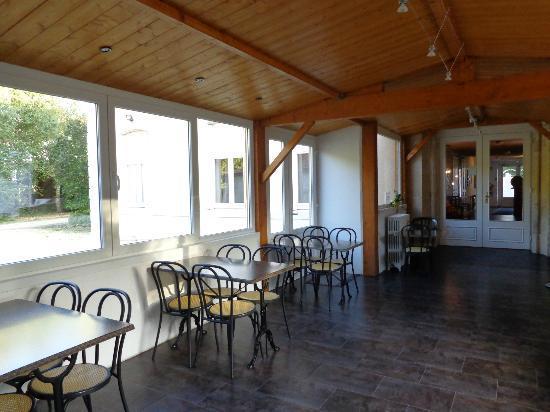 Hotel du Tigre : salle de petit déjeuner