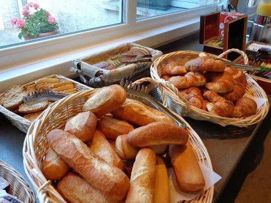 Hotel du Tigre : petit déjeuner