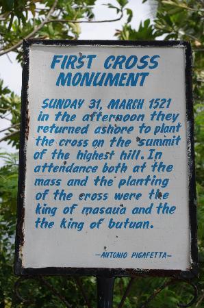 Limasawa Island, Leyte - First Cross site (400 step climb)