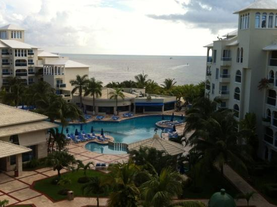 Occidental Costa Cancun: view from my balcony