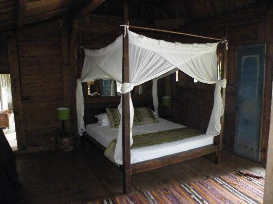 Ratua Private Island: My bed