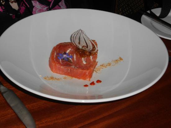 Vaughans Anchor Inn: Salmon Terrine