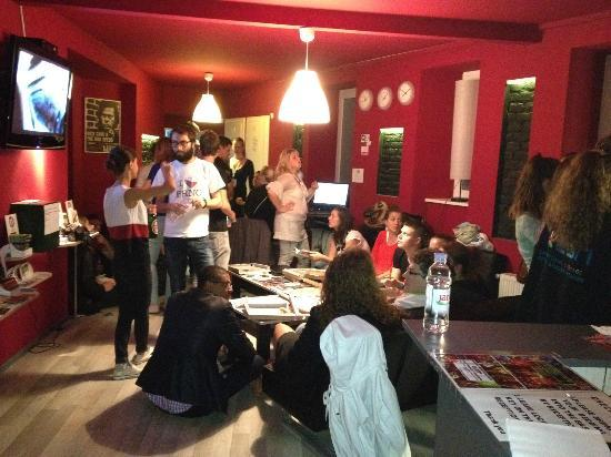 Day and Night Hostel: ESN meeting, October