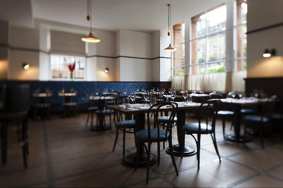 Galvin Brasserie de Luxe seating