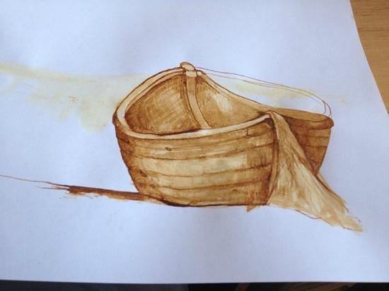 Venta El Colmenar: Dibujo para la carta del Artista Diego Hernandez