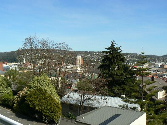 Adina Place City View Apartments: The view (Launceston)